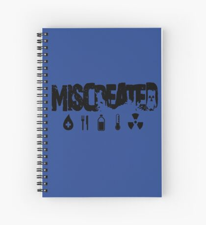 Miscreated Design 2  Blue (Official) Spiral Notebook