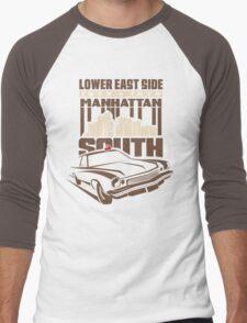 Manhattan South ver2 Men's Baseball ¾ T-Shirt