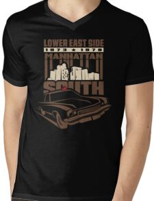 Manhattan South ver2 Mens V-Neck T-Shirt