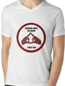 Throwin' What We Know Mens V-Neck T-Shirt