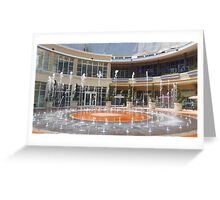 Fountain , Dividers Greeting Card