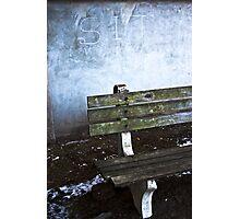 Sit Photographic Print