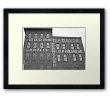 Browne-Davis Framed Print