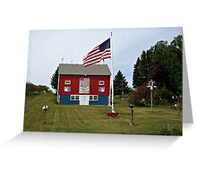 House of Patriots Greeting Card