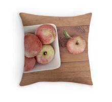 first harvest :: apples {5} Throw Pillow
