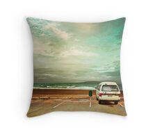 Travelers Van - New Zealand Throw Pillow