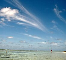 Cirrus Cloud - Lady Elliot Island  by AmyLee2694
