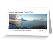 Magnetic Island - Across Cleveland Bay Greeting Card