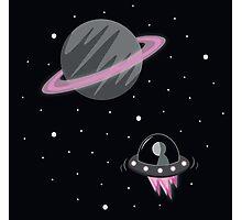 Exploring Space Photographic Print