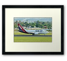 PK-NAN Boeing B737 NAM Air Framed Print