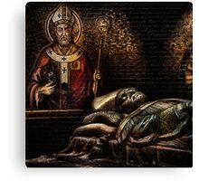Papal Puzzle Canvas Print