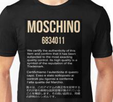 MOSCHINO GOLD #1 Unisex T-Shirt