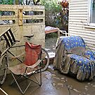 Brisbane Floods 2011 - Aftermath - Out The Back by Neil Ross