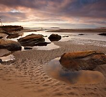 Tyndall Beach, Kingston, Tasmania by Chris Cobern