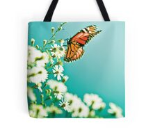 Butterfly and flowers - Nature Tote Bag