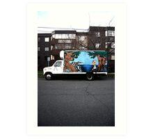 victoria truck Art Print