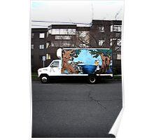 victoria truck Poster