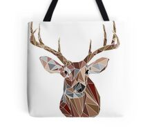 Geo Buck Tote Bag
