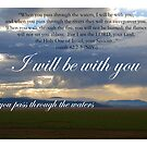 When you pass through the waters I will be with you by Catherine Davis