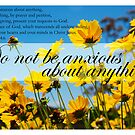 Do not be anxious about anything by Catherine Davis