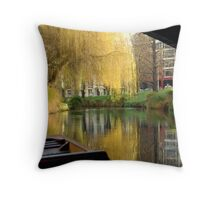 Christchurch Avon River Throw Pillow