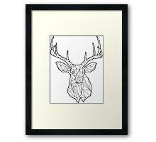 Buck the Line Framed Print