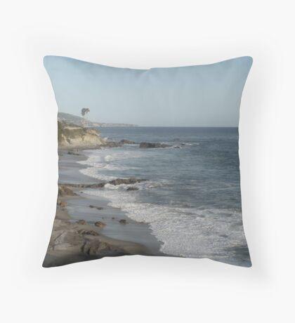Laguna Beach: View from Heisler Park Throw Pillow