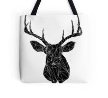Buck the Line- Negative Tote Bag