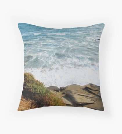 Swallowed in the Sea Throw Pillow