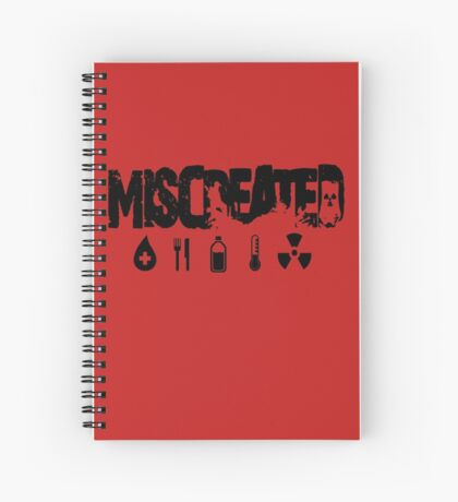Miscreated  Design 2 Red (Official) Spiral Notebook