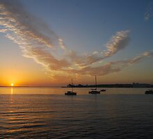 Sunrise over Boston Bay by Ian Berry