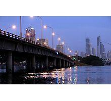 Twilight on the Gold Coast Photographic Print