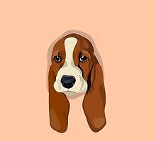 Basset Hound Puppy by liamtc