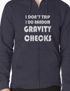 Gravity check geek funny nerd T-Shirt