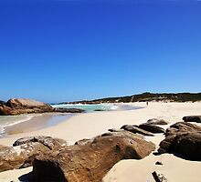 Redgate Beach looking back from the other end by georgieboy98
