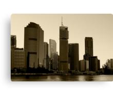 Brisbane skyscrapers Canvas Print