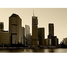 Brisbane skyscrapers Photographic Print