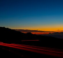 Haleakala Sunset by Zach Pezzillo
