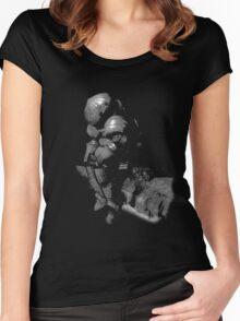 Siegmeyer wall Women's Fitted Scoop T-Shirt