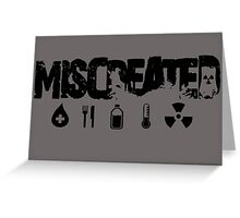 Miscreated Design 2 Grey (Official) Greeting Card
