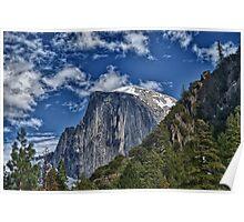 Half dome in Yosemite Poster