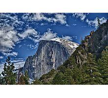 Half dome in Yosemite Photographic Print