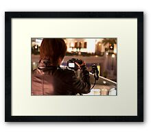 Long Exposure... Framed Print