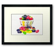 candy Framed Print