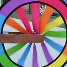 Rainbow Wheel by DEB CAMERON