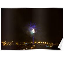 Happy New Year - Fireworks Poster