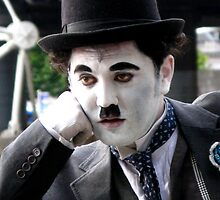 Charlie Chaplin Mime by Marilyn Harris