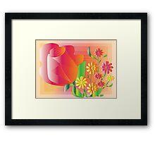 Peace Blossoms Framed Print