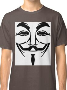 Anonymous Mask Silhouette Classic T-Shirt