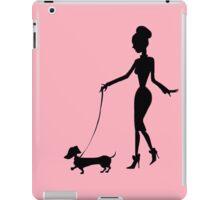 Flaunting The Pooch (blush) iPad Case/Skin